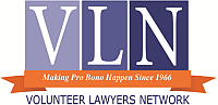 Volunteer Lawyers Network logo