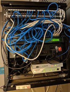 Small Rack Unorganized